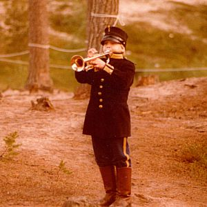 Pasi as little boy in Seskar� ca. 1982
