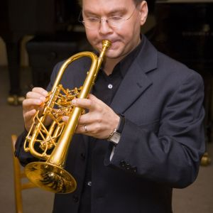 Playing the rotary trumpet