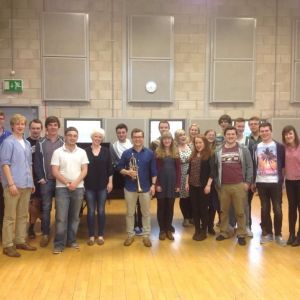 RNCM with students